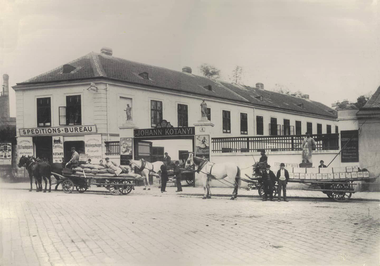 ursprüngliche Kotányi Fabrik in Ungarn