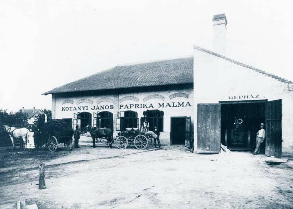 ursprümgliche Paprikafabrik in Szegedin